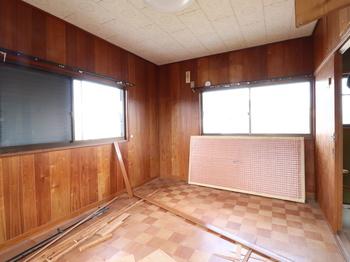 施工前 2階内観