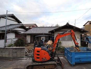 外塀・ブロックの解体工事 →