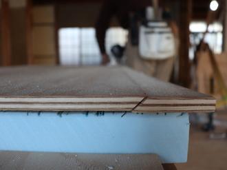 構造用合板加工 →